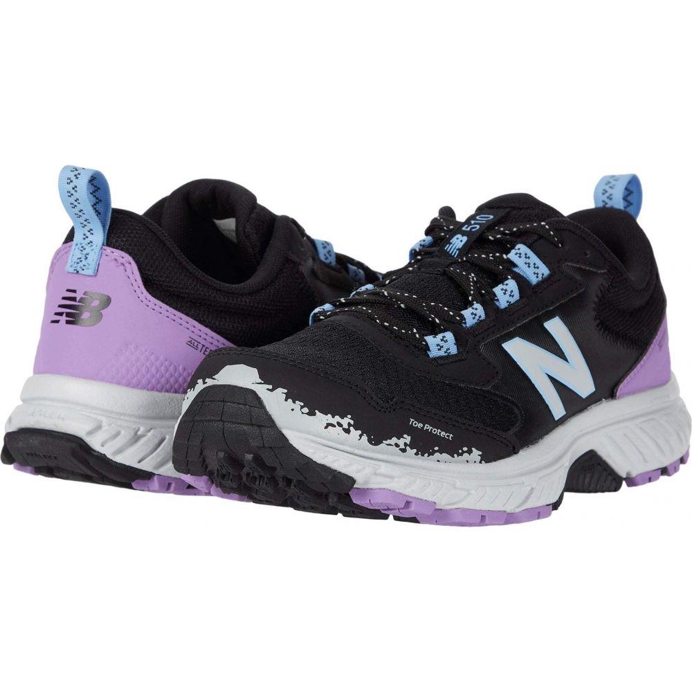 ニューバランス New Balance レディース ランニング・ウォーキング シューズ・靴【510v5】Black/Light Aluminum
