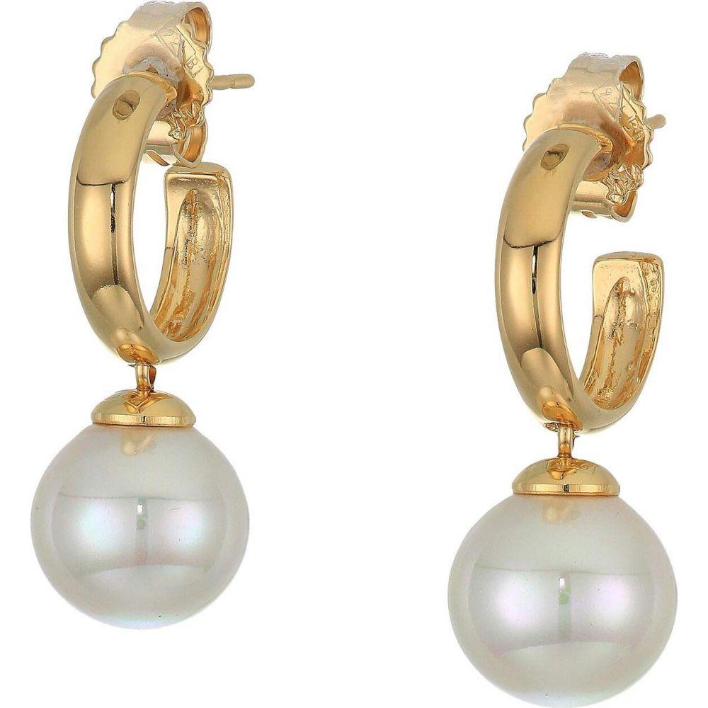 マジョリカ Majorica レディース イヤリング・ピアス ドロップピアス ジュエリー・アクセサリー【Lyra Drop Earrings】White