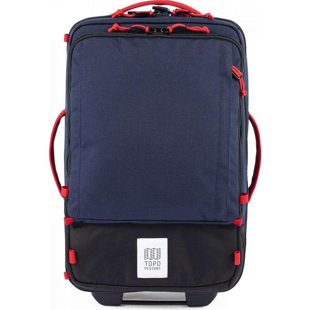 トポ デザイン Topo Designs レディース スーツケース・キャリーバッグ バッグ【35 L Travel Bag Roller】Navy/Navy