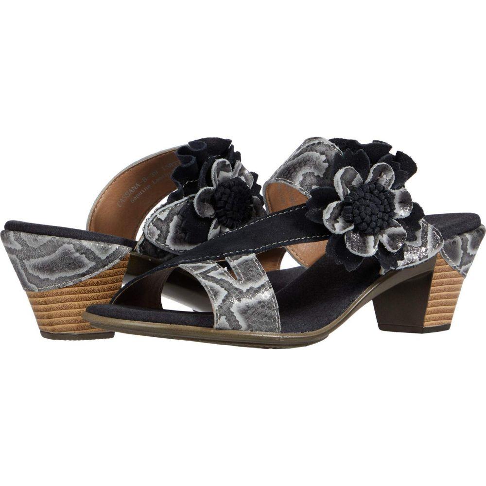 スプリングステップ L'Artiste by Spring Step レディース サンダル・ミュール シューズ・靴【Cassana】Black