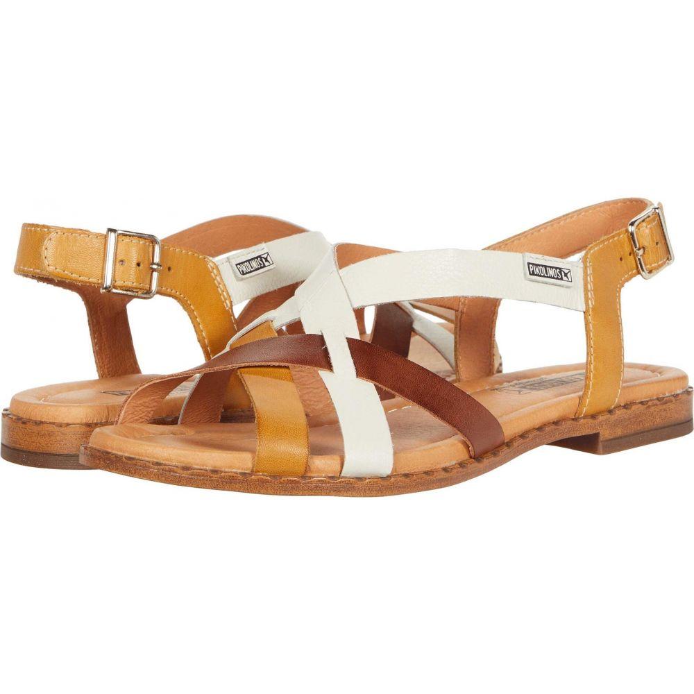 ピコリノス Pikolinos レディース サンダル・ミュール シューズ・靴【Algar W0X-0556C1】Honey