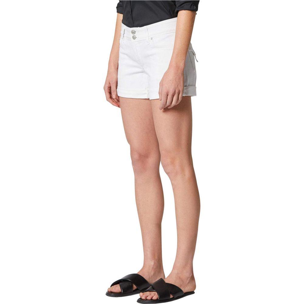ハドソンジーンズ Hudson Jeans レディース ショートパンツ ボトムス・パンツ【Croxley Cuffed Shorts in White】White