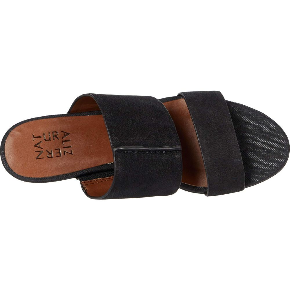 ナチュラライザー Naturalizer レディース サンダル・ミュール シューズ・靴 Urbana Black Grain NubuckdCxBoreW