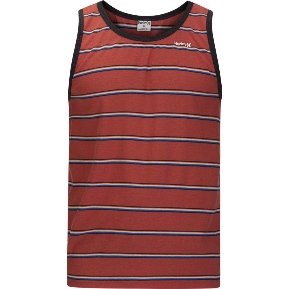 ハーレー Hurley メンズ タンクトップ トップス【Serape Stripe Tank Top】Pueblo Red