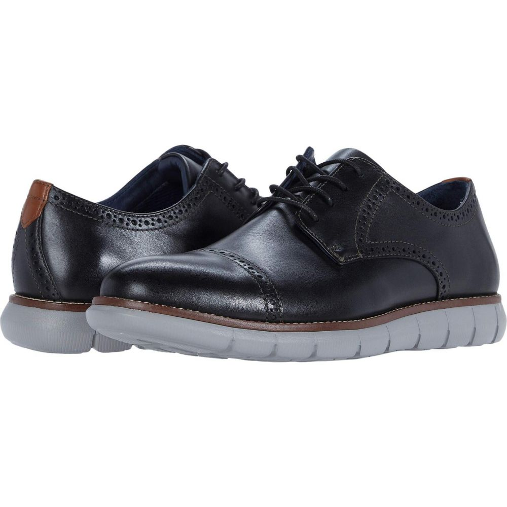 ジョンストン&マーフィー Johnston & Murphy メンズ 革靴・ビジネスシューズ シューズ・靴【Milson Cap Toe】Black Full Grain Leather