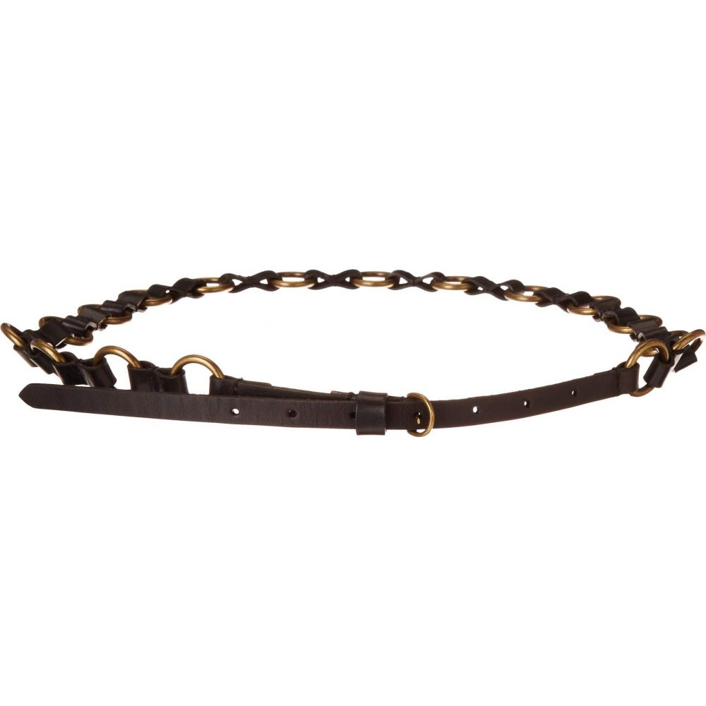 フライ Frye レディース ベルト 【12 mm Ring Belt】Black
