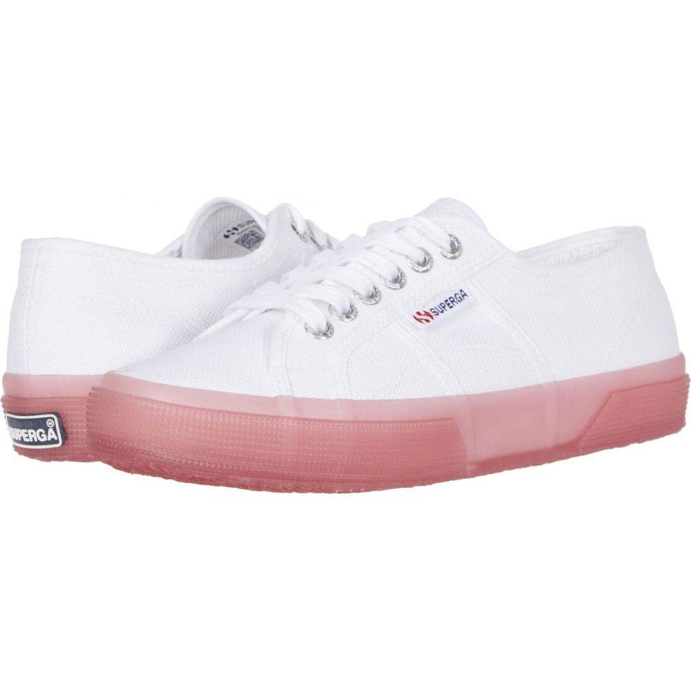 スペルガ Superga レディース スニーカー シューズ・靴【2750 Jellygum Cotu】White/Pink