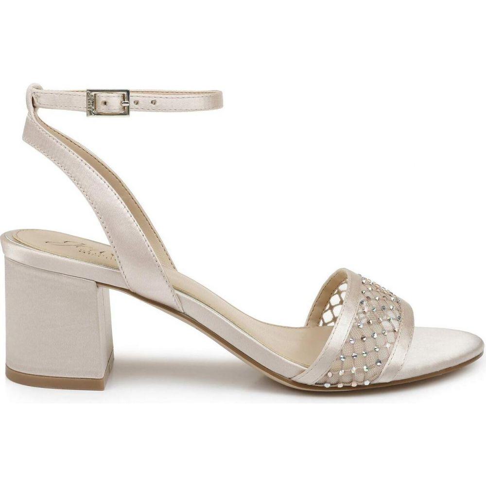バッジェリー ミシュカ Jewel Badgley Mischka レディース サンダル・ミュール シューズ・靴【Nadia】Champagne