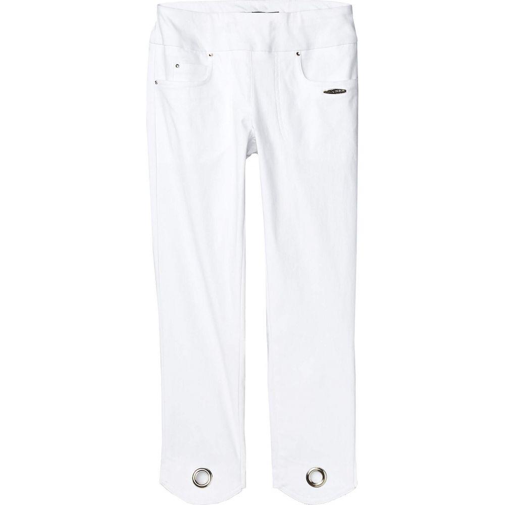 ジェイミー サドック Jamie Sadock レディース スキニー・スリム ボトムス・パンツ【Skinnylicious Mid-Capris Pants with Control Top Panel】Sugar White