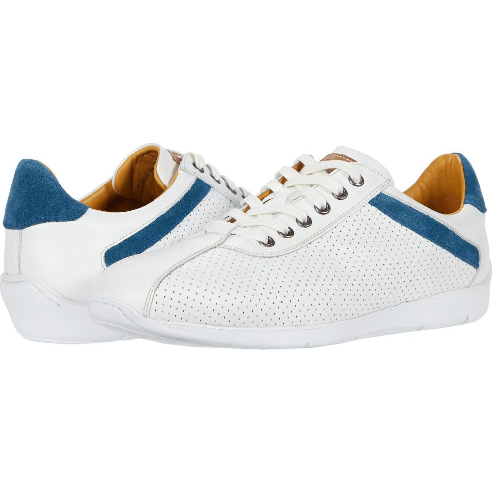 メツラン Mezlan メンズ スニーカー シューズ・靴【Kalem】White/Blue