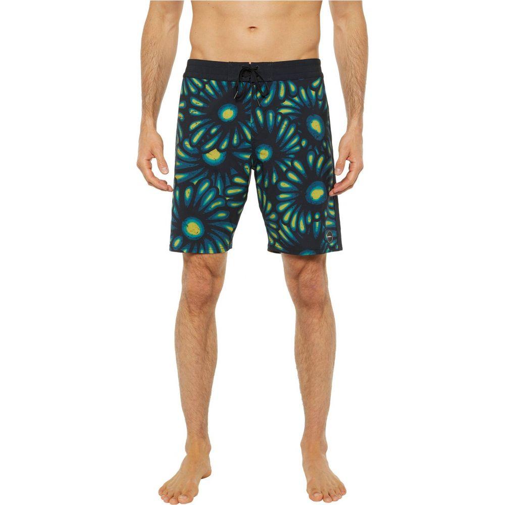 オニール O'Neill メンズ 海パン 水着・ビーチウェア【Hyperfreak Sunburst Boardshorts】Black