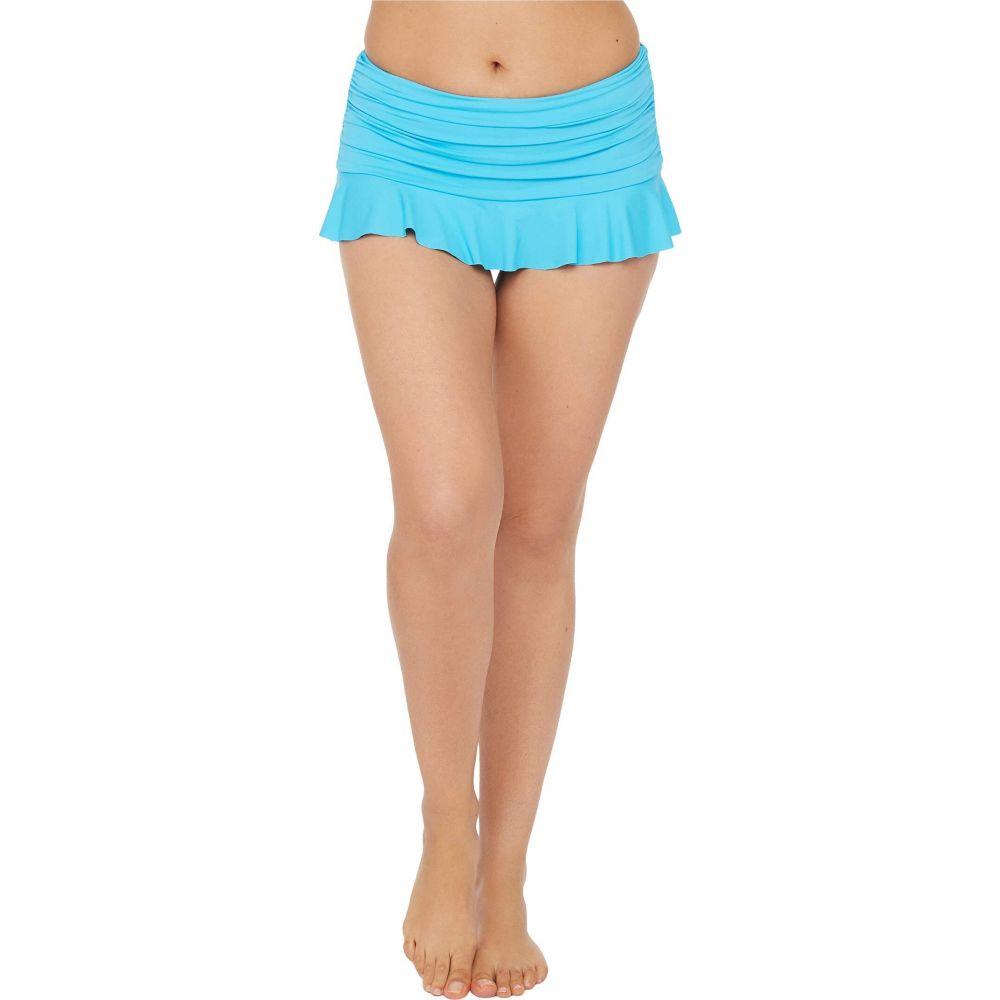 ラブランカ La Blanca レディース ボトムのみ 水着・ビーチウェア【Island Goddess Ruffle Skirted Hipster Bikini Bottoms】Poolside