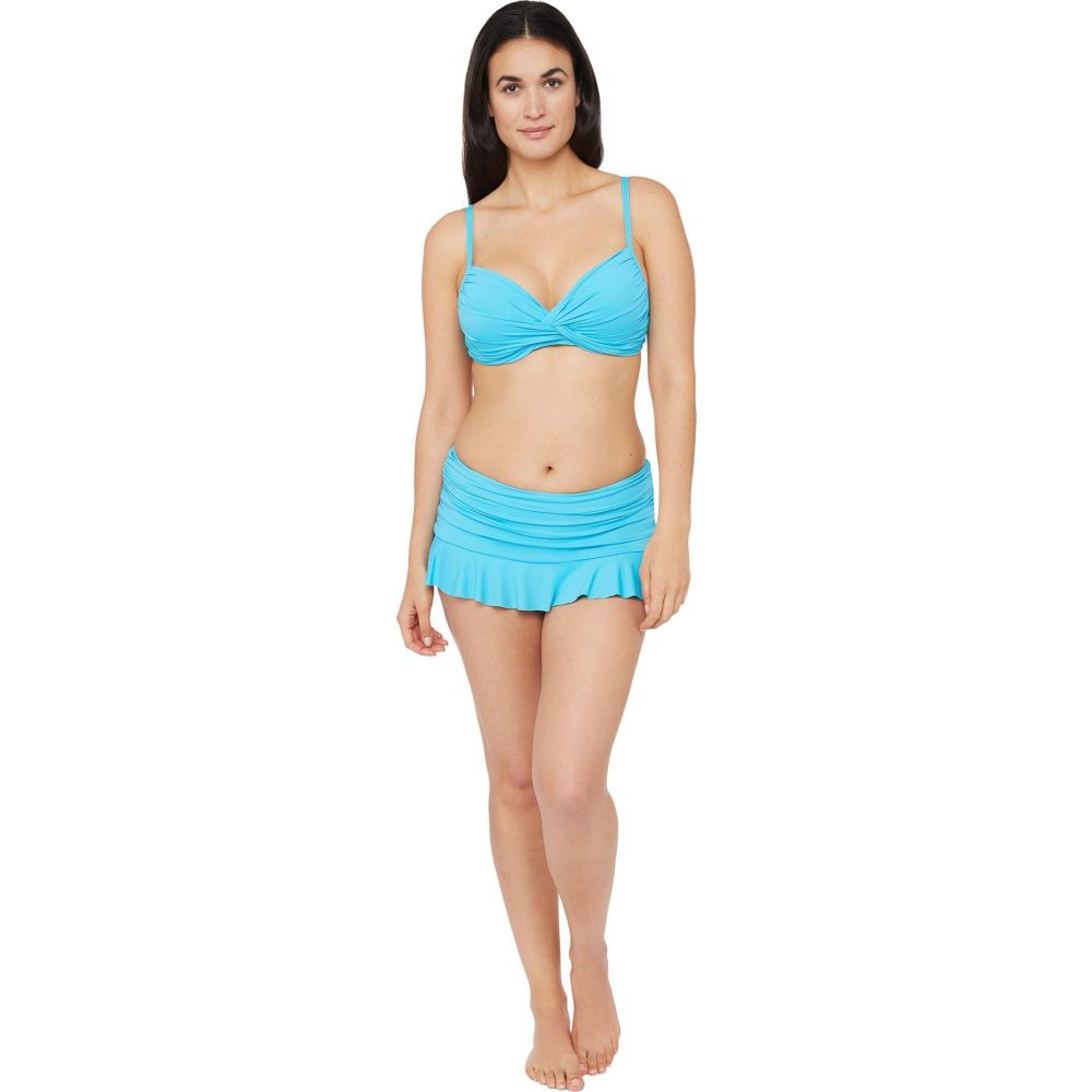 ラブランカ La Blanca レディース トップのみ 水着・ビーチウェア【Island Goddess Twist Front Bra Bikini Swimsuit Top】Poolside