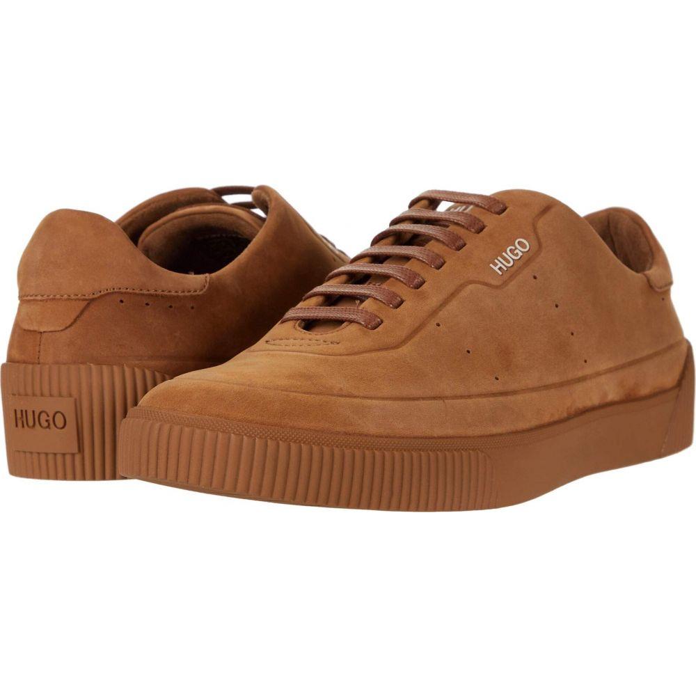ヒューゴ ボス BOSS Hugo Boss メンズ スニーカー ローカット シューズ・靴【Zero Low Top Sneaker by HUGO】Medium Brown