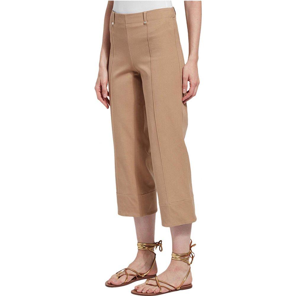 リセ Lysse レディース クロップド ワイドパンツ ボトムス・パンツ【Giorgia Wide Leg Crop Pull-On Pants with Belt Loops in Stretch Twill】Chino