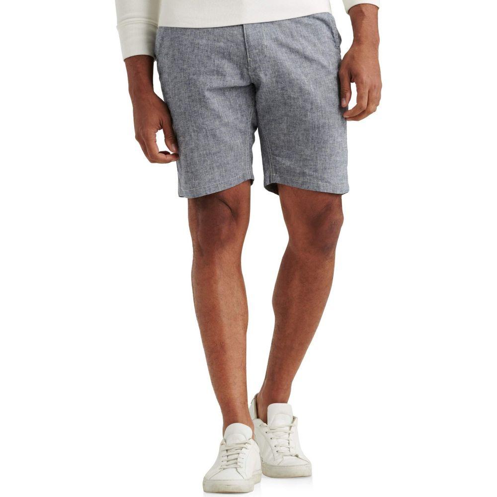 ラッキーブランド Lucky Brand メンズ ショートパンツ ボトムス・パンツ【Linen Flat Front Shorts】Chambray