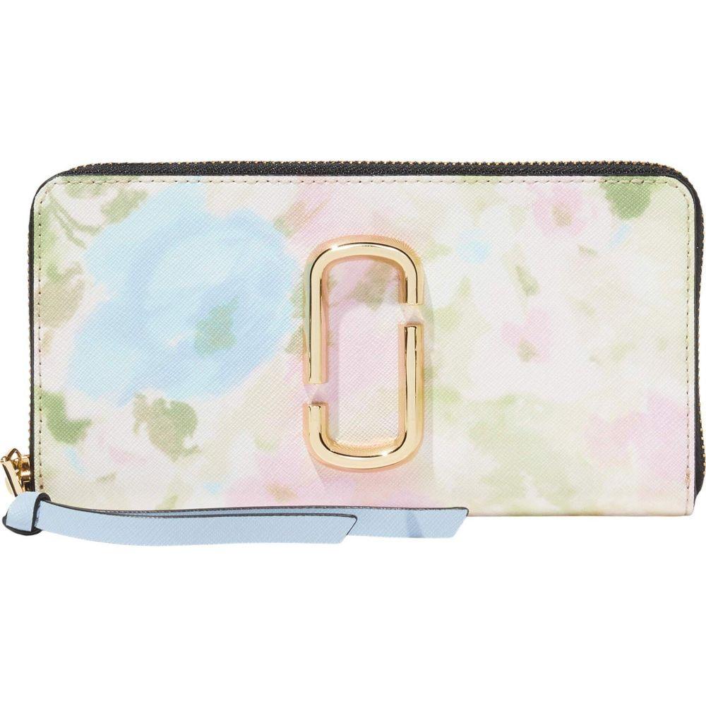 マーク ジェイコブス Marc Jacobs レディース 財布 【Snapshot Watercolor Standard Continental Wallet】Pink Multi