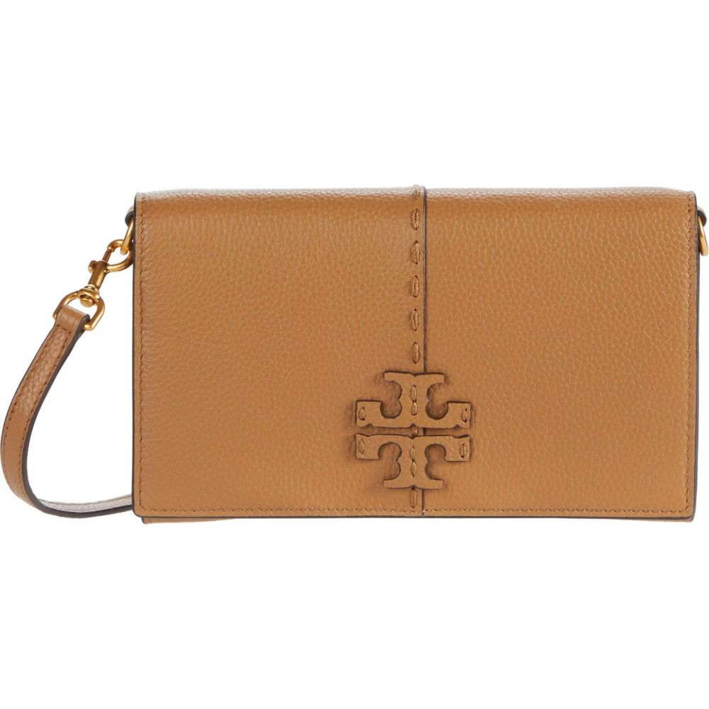 トリー バーチ Tory Burch レディース 財布 【McGraw Wallet Crossbody】Tiramisu