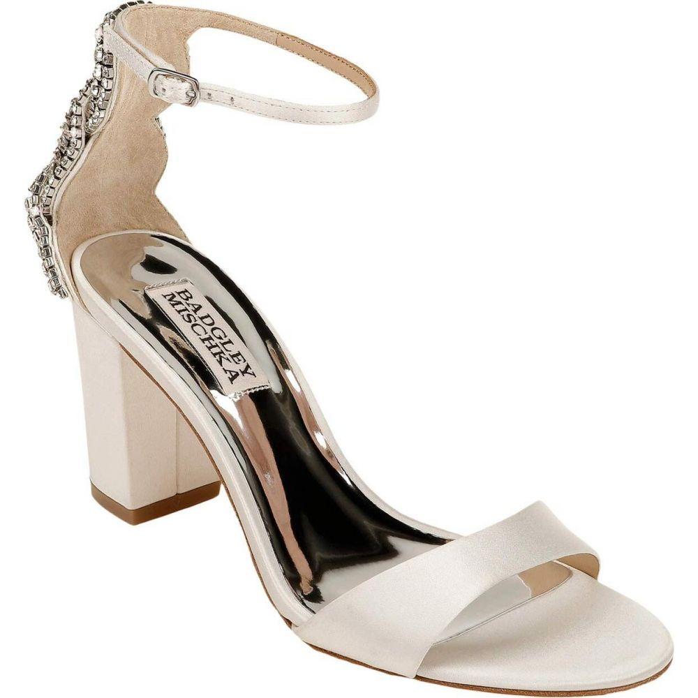 バッジェリー ミシュカ Badgley Mischka レディース サンダル・ミュール シューズ・靴【Zabella】Soft White