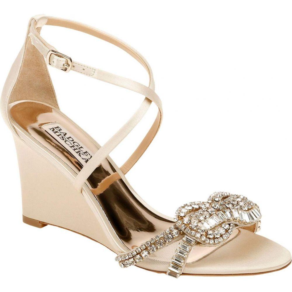 バッジェリー ミシュカ Badgley Mischka レディース サンダル・ミュール シューズ・靴【Zabrina】Ivory