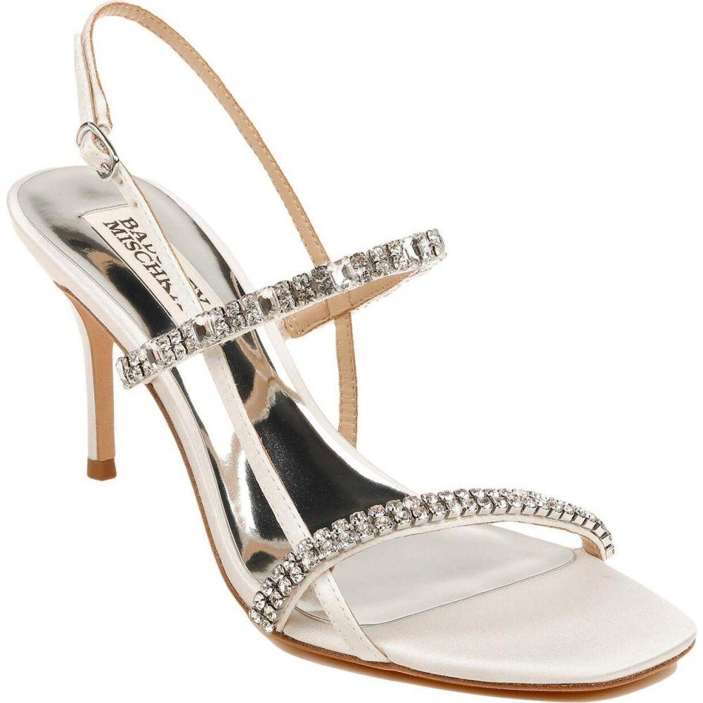 バッジェリー ミシュカ Badgley Mischka レディース サンダル・ミュール シューズ・靴【Zane】Soft White