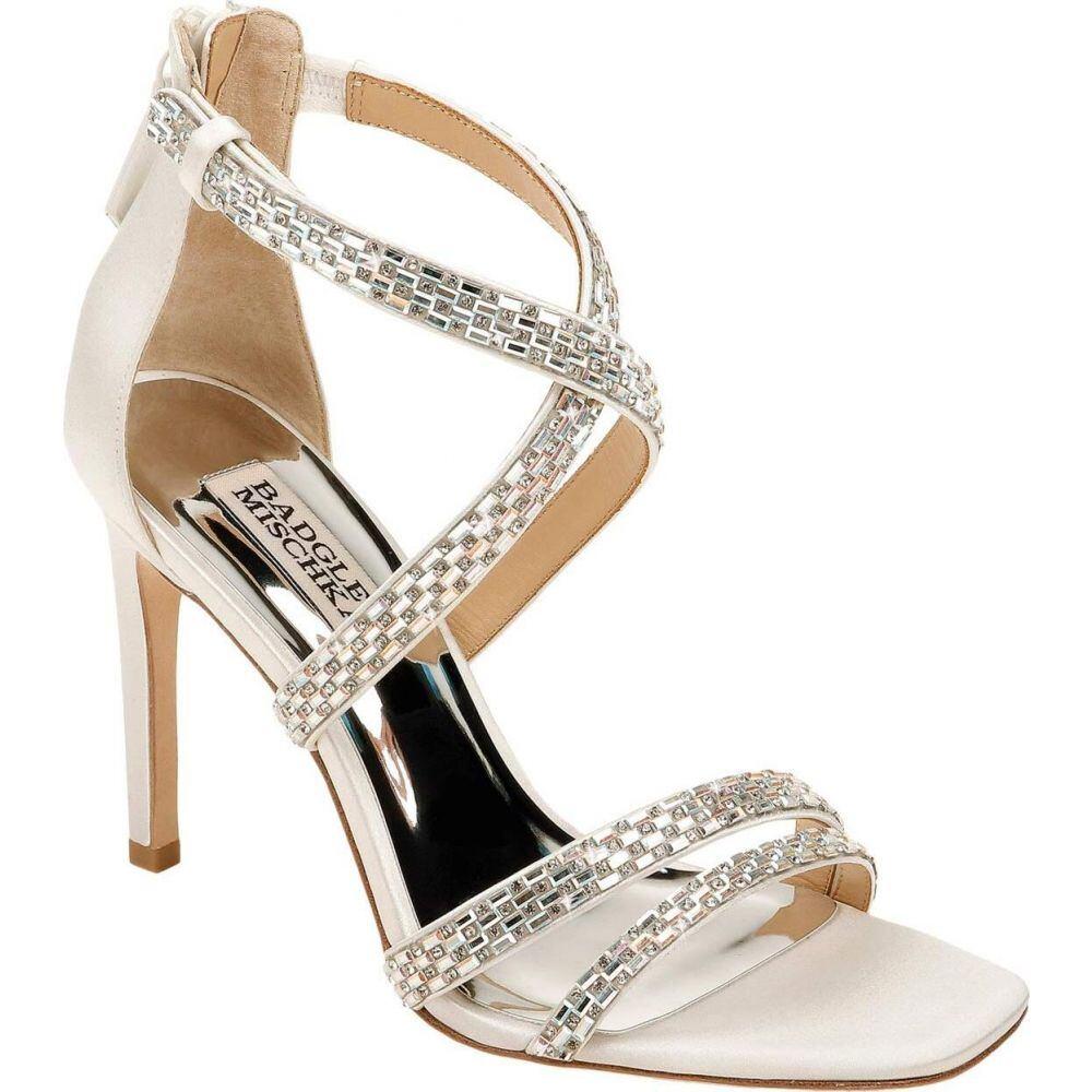 バッジェリー ミシュカ Badgley Mischka レディース サンダル・ミュール シューズ・靴【Zendaya】Soft White