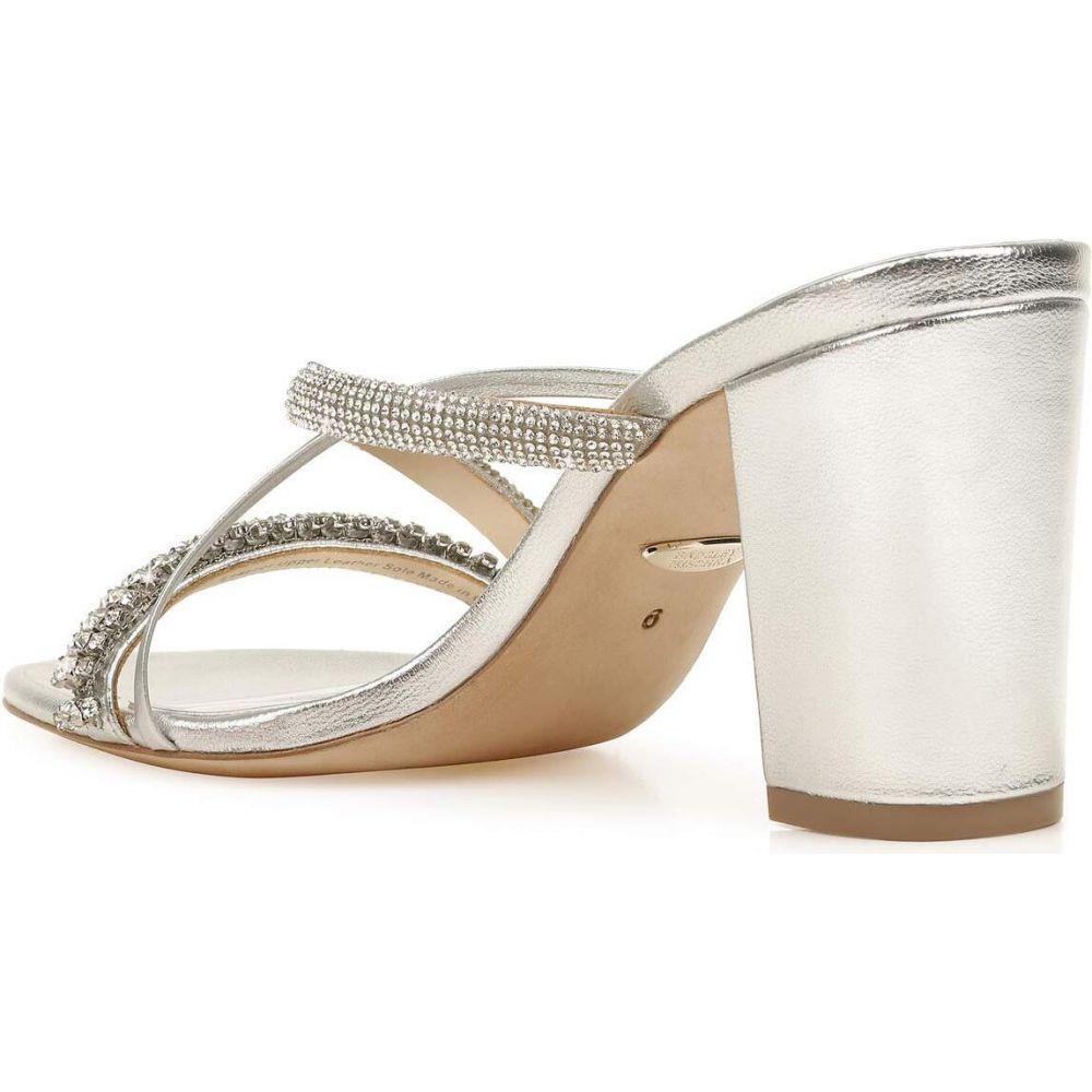 バッジェリー ミシュカ Badgley Mischka レディース サンダル・ミュール シューズ・靴【Zoraya】Silver