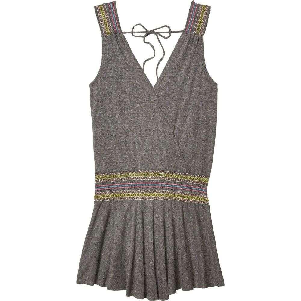 ソルーナ スイム SOLUNA SWIM レディース ビーチウェア ワンピース・ドレス 水着・ビーチウェア【Malibu Mini Dress】Heather Grey