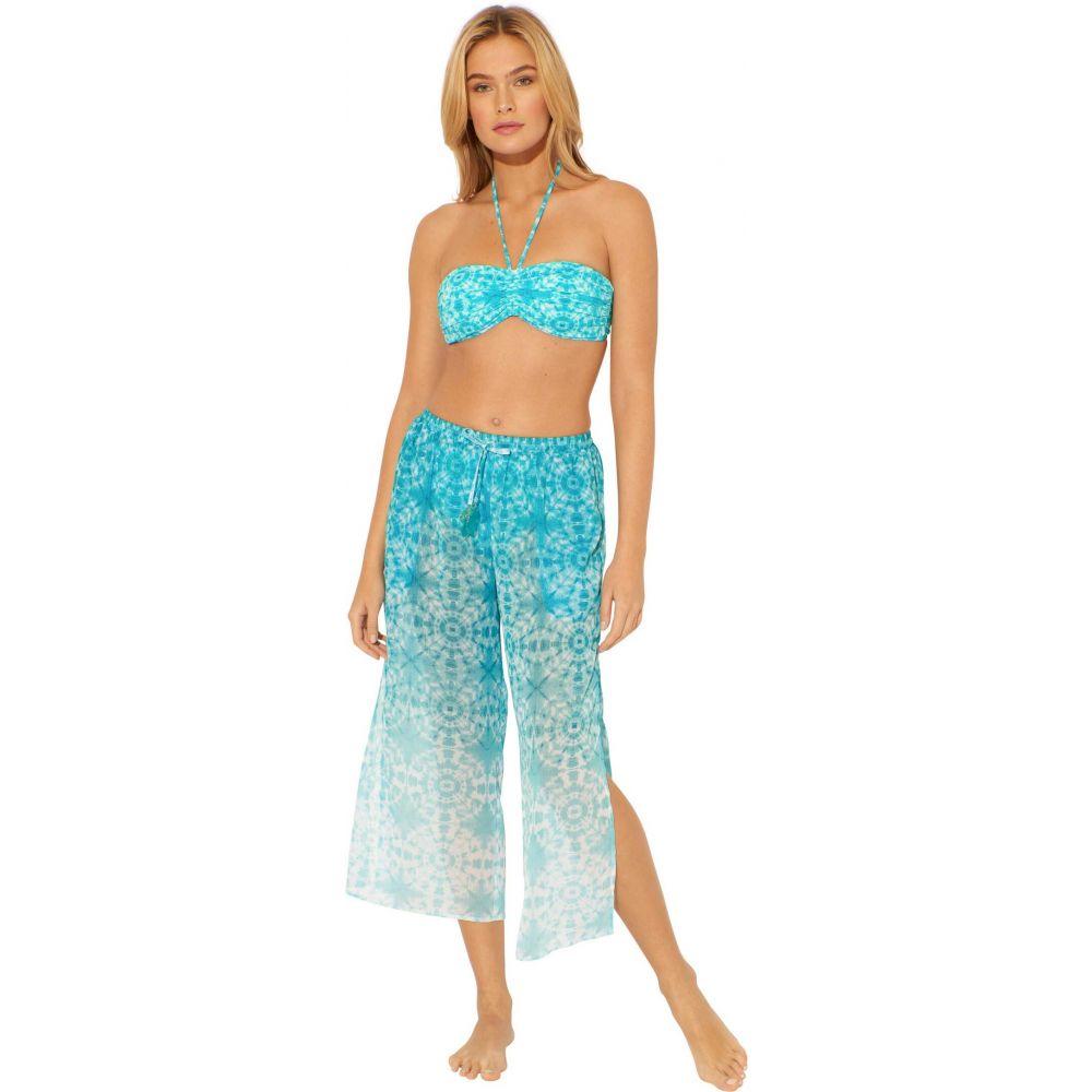 ブルー ロッド ビーティー Bleu Rod Beattie レディース ビーチウェア 水着・ビーチウェア【Make Waves Side Slit Pants Cover-Up】Laguna Teal