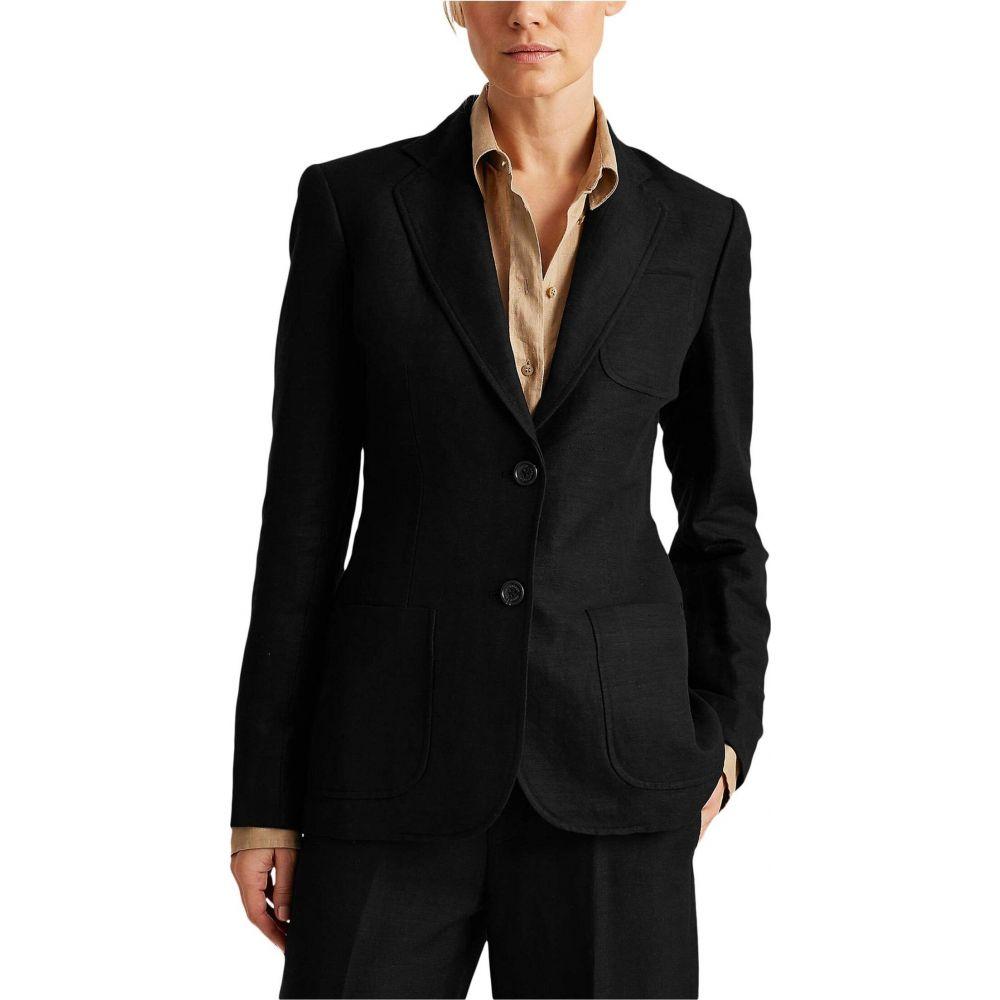 ラルフ ローレン LAUREN Ralph Lauren レディース スーツ・ジャケット アウター【Twill Blazer】Polo Black