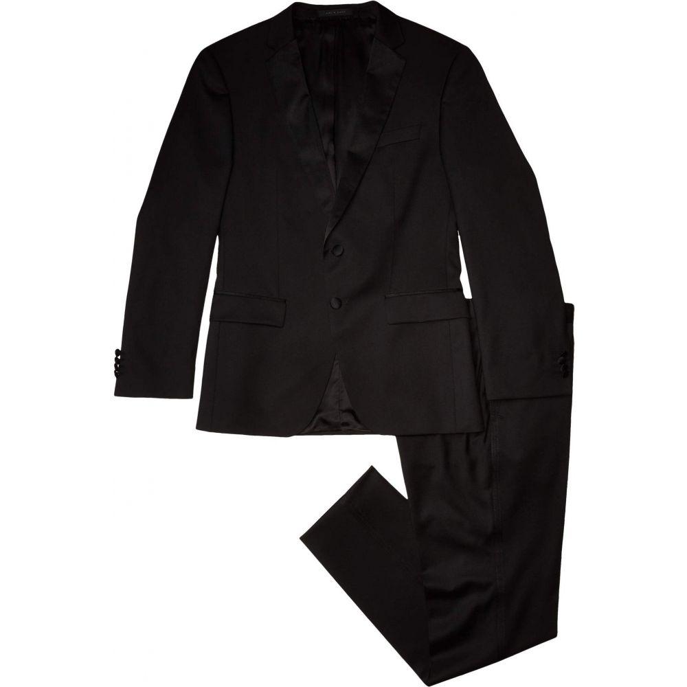 ヒューゴ ボス BOSS Hugo Boss メンズ スーツ・ジャケット タキシード アウター【Halven/Gentry Slim Fit Tuxedo By BOSS】Black