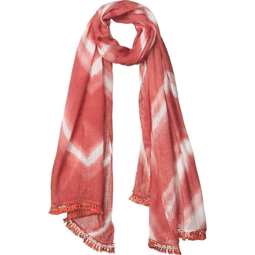 ヴィンス カムート Vince Camuto レディース マフラー・スカーフ・ストールChevron Tie Dye Tassel Wrap Desert Rose7gIYbfv6my