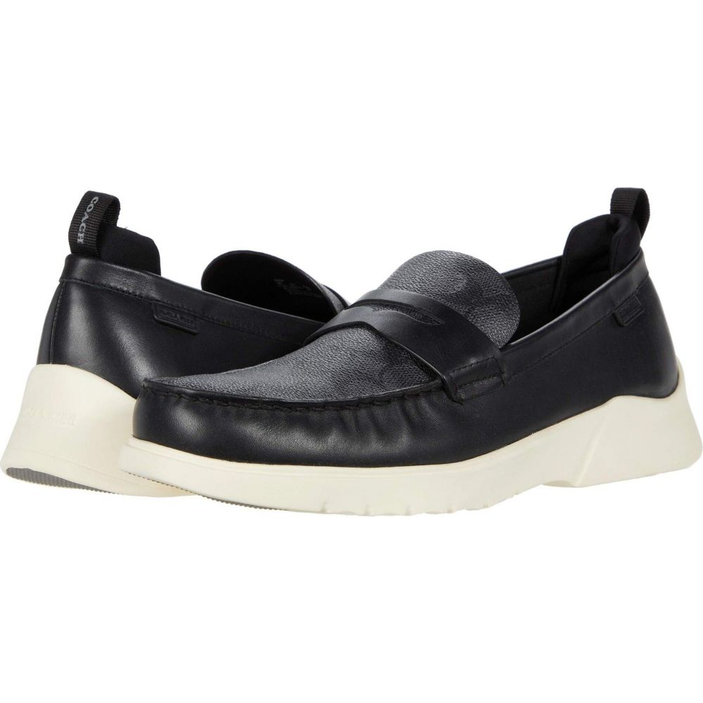 コーチ COACH メンズ ローファー シューズ・靴【Signature Hybrid Loafer】Black/Black