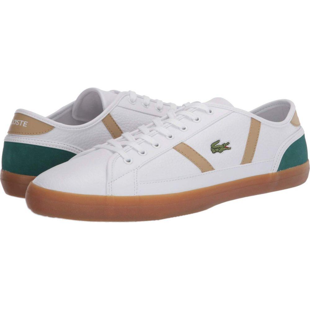 ラコステ Lacoste メンズ スニーカー シューズ・靴【Sideline 120 3】White/Green