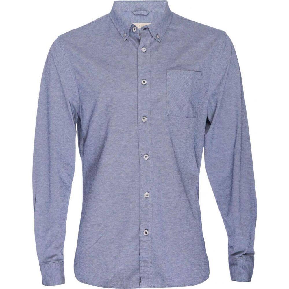 ニフティジーニアス Nifty Genius メンズ シャツ トップス【Truman Button Collar Oxford】Navy