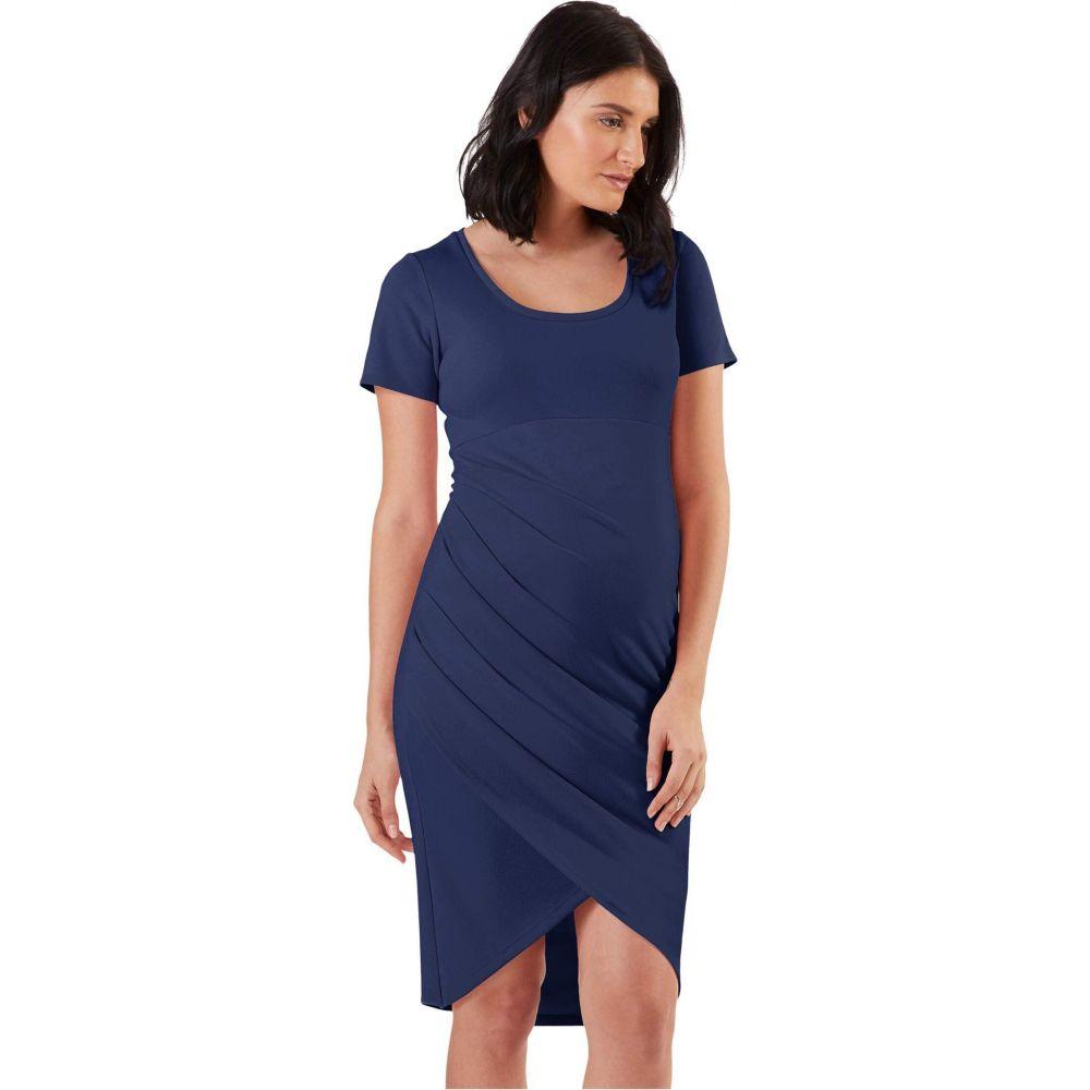 ストゥアウェイ コレクション Stowaway Collection Maternity レディース ワンピース マタニティウェア ワンピース・ドレス【Becca Maternity Dress】Navy