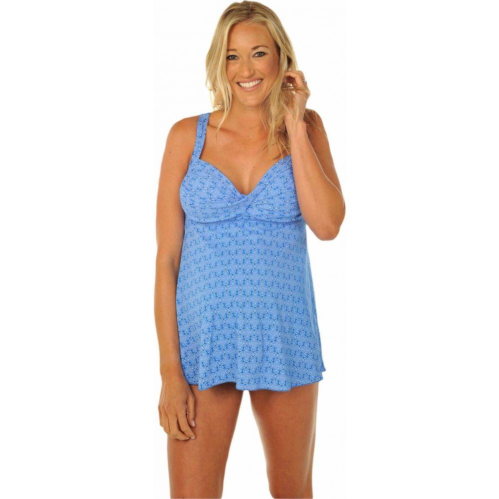 プレーゴ Prego Maternity Wear レディース 上下セット ベビードール 水着・ビーチウェア【Daisy Dot-Twist Babydoll】Blue
