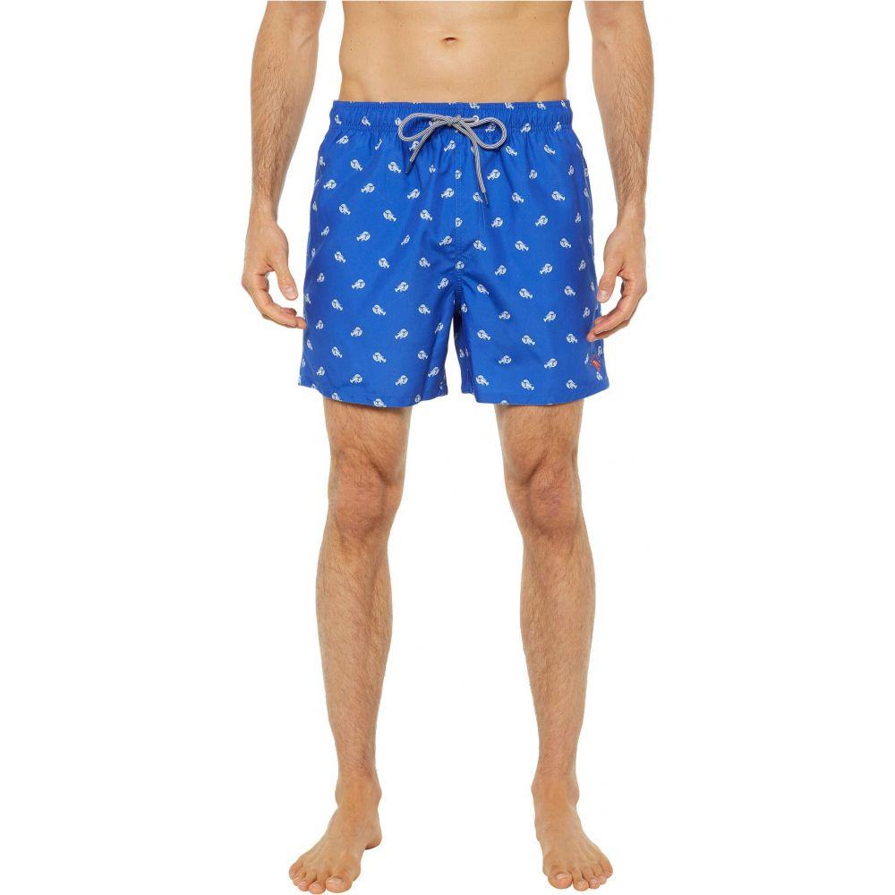 通販 テッドベーカー Ted Baker メンズ 海パン ショートパンツ 水着・ビーチウェア【Lob Lobster Print Swim Shorts】Bright Blue, ロクセイマチ 4b1e7631
