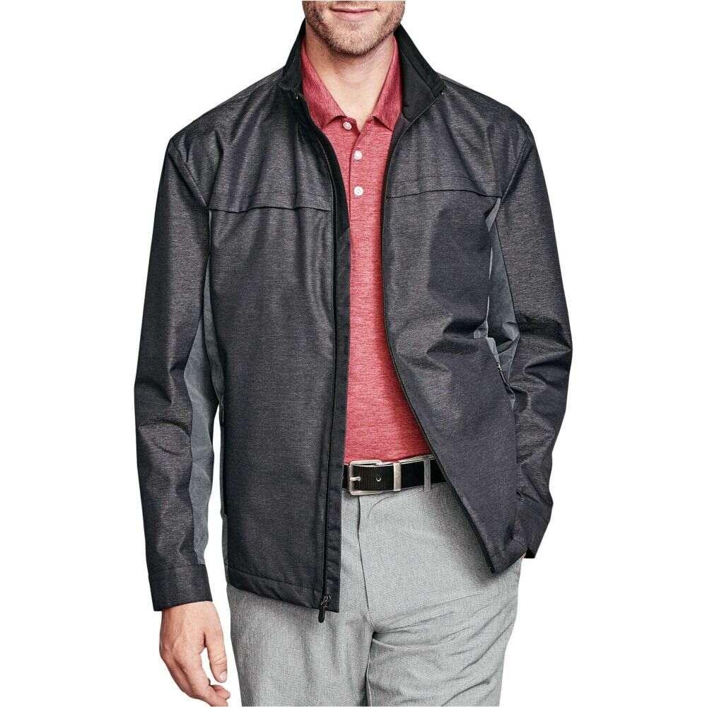 ジョンストン&マーフィー Johnston & Murphy メンズ ジャケット アウター【Golf Jacket】Black/Gray