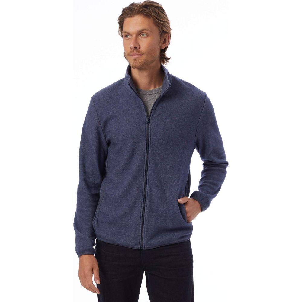 Full Navy Zip オルタナティヴ メンズ ジャケット Jacket】Eco アウター【Eco-Teddy Alternative