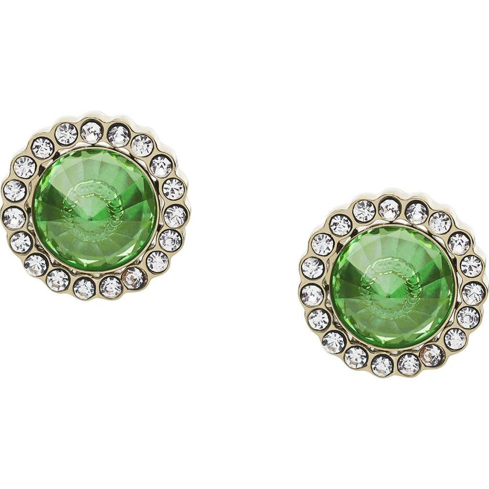 フォッシル Fossil レディース イヤリング・ピアス ジュエリー・アクセサリー【Power of Crystals Stainless Steel Stud Earrings】Green
