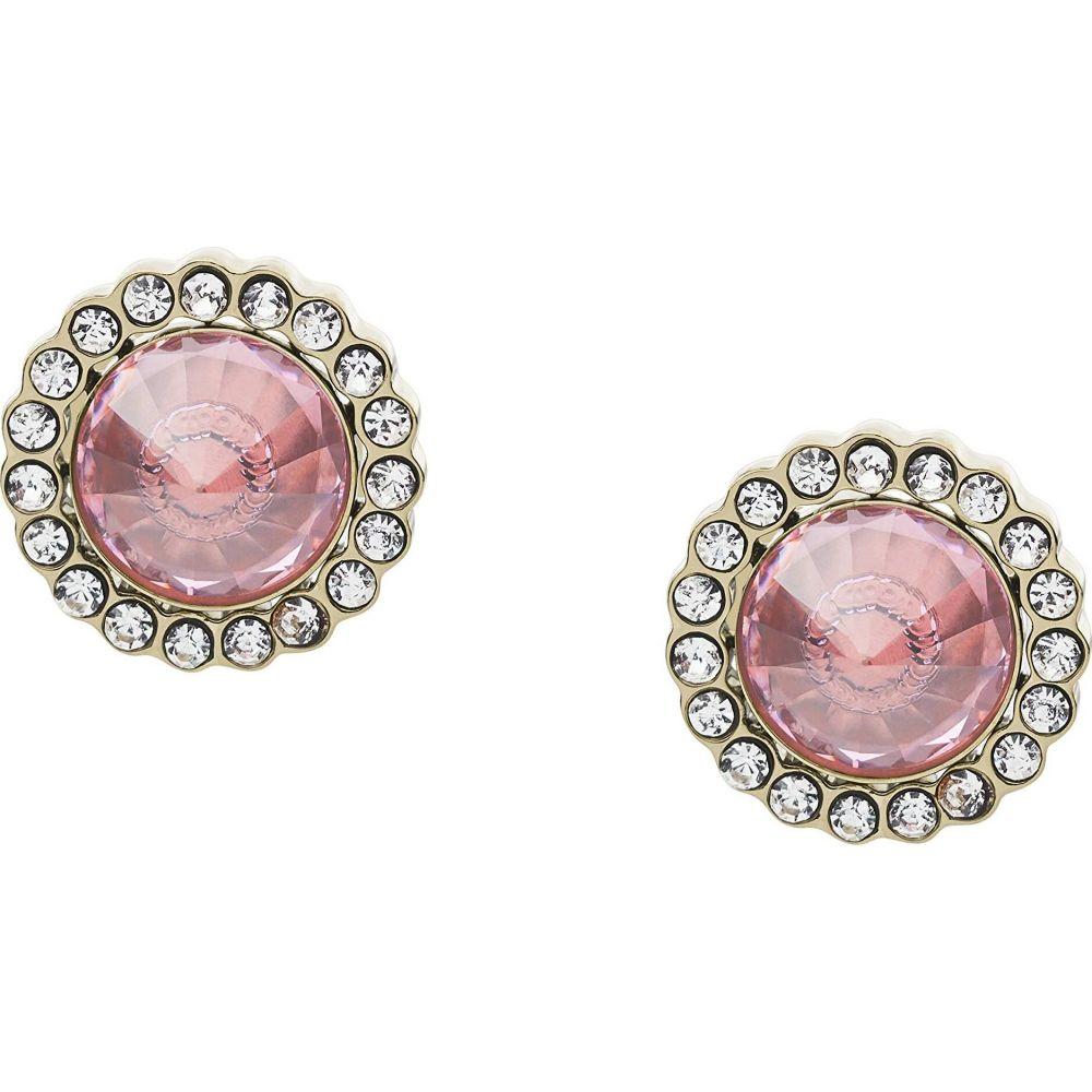 フォッシル Fossil レディース イヤリング・ピアス ジュエリー・アクセサリー【Power of Crystals Stainless Steel Stud Earrings】Pink