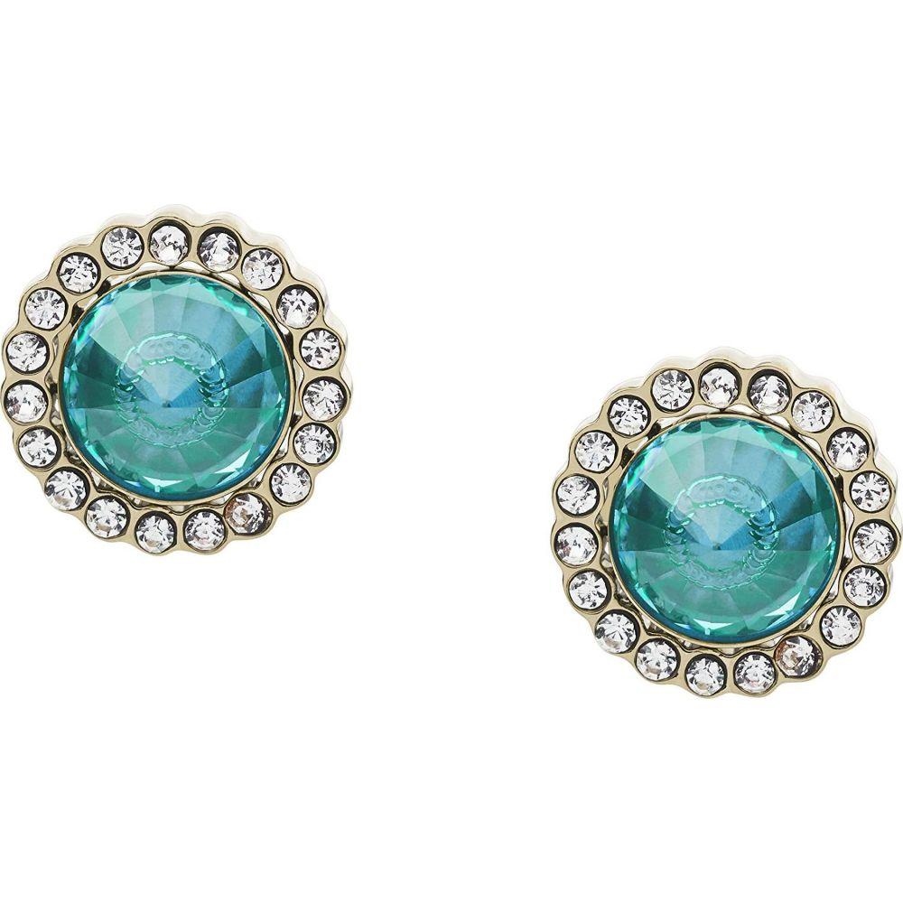 フォッシル Fossil レディース イヤリング・ピアス ジュエリー・アクセサリー【Power of Crystals Stainless Steel Stud Earrings】Turquoise