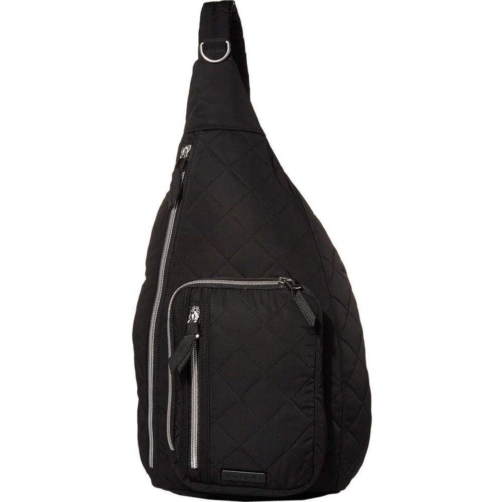 ヴェラ ブラッドリー Vera Bradley レディース バックパック・リュック バッグ【Iconic Performance Twill Sling Backpack】Black