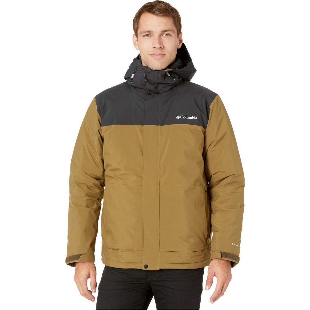 コロンビア Columbia メンズ ダウン・中綿ジャケット アウター【Horizon Explorer Insulated Jacket】Olive Brown/Black