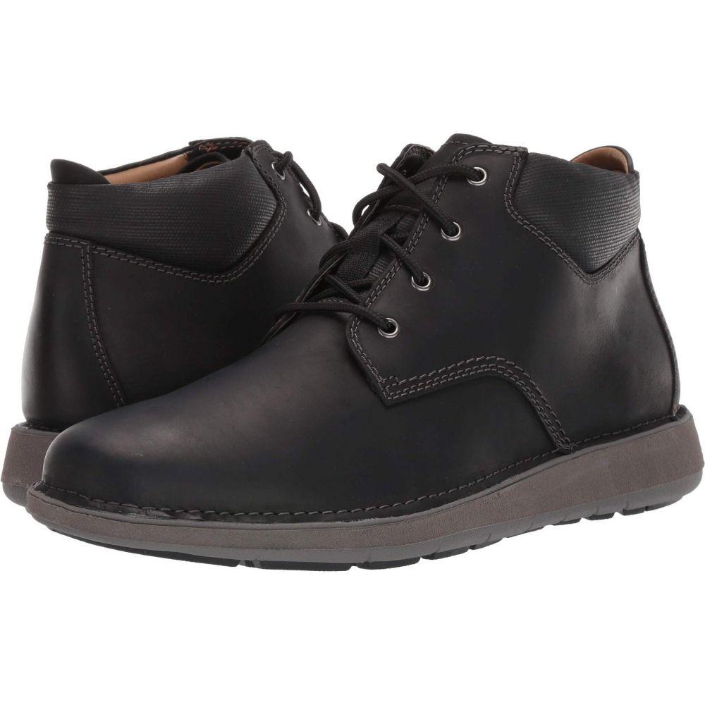 クラークス Clarks メンズ ブーツ シューズ・靴【Un Larvik Top】Black Oily Leather