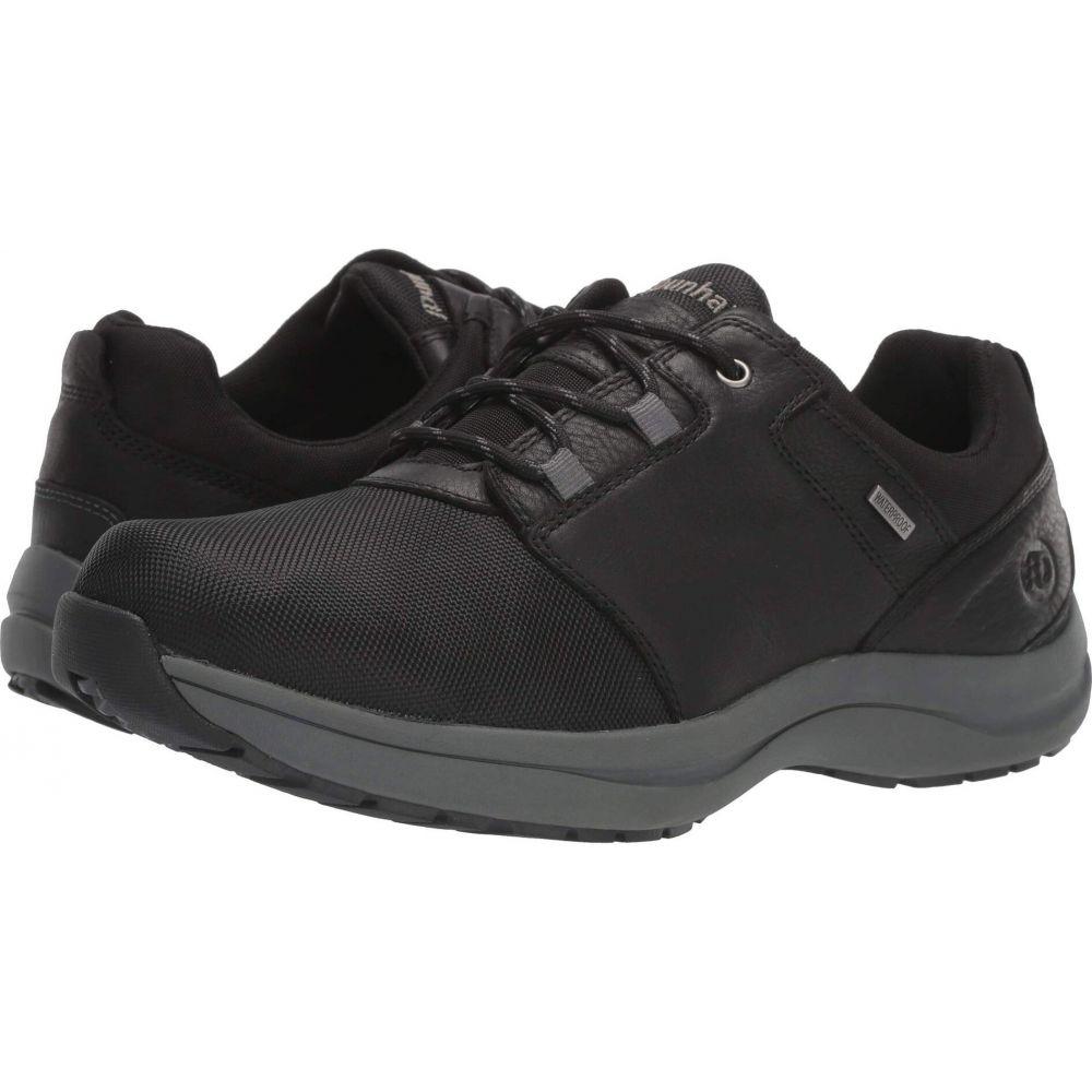 ダナム Dunham メンズ スニーカー シューズ・靴【Sutton Tie Waterproof Oxford】Black