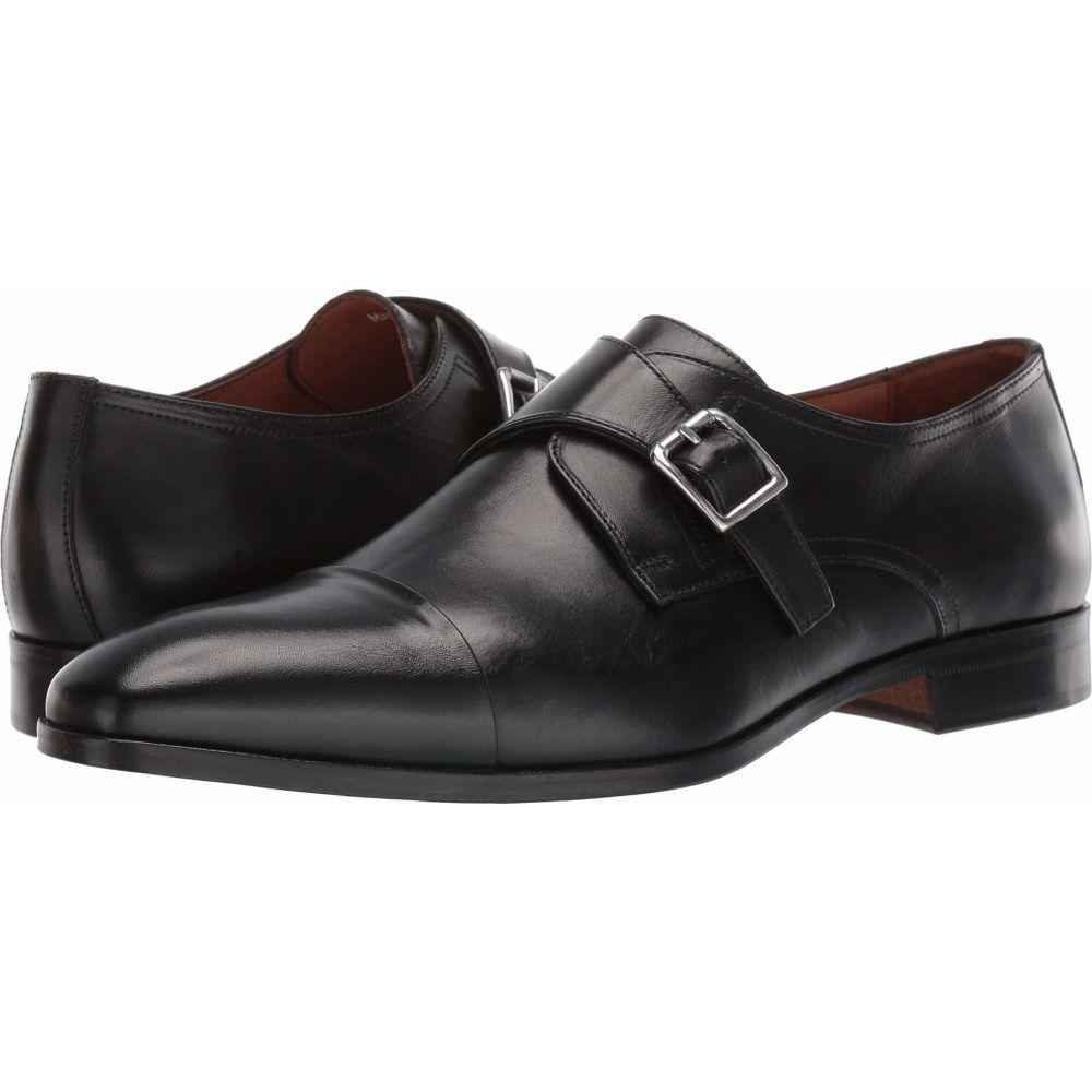 マッテオ マッシモ Massimo Matteo メンズ 革靴・ビジネスシューズ シューズ・靴【Desk Single Monk】Black