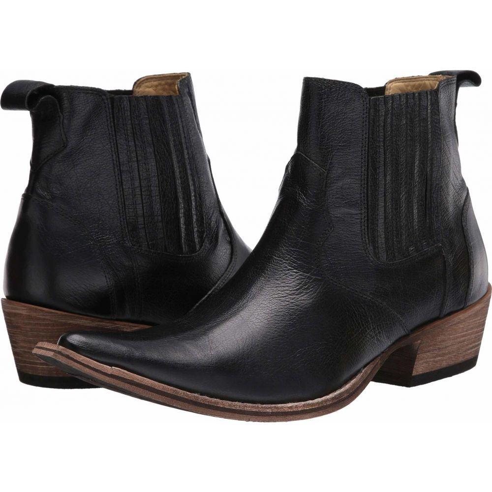 マッテオ マッシモ Massimo Matteo メンズ ブーツ シューズ・靴【El Padrino Pointy Toe Boot】Black Leather