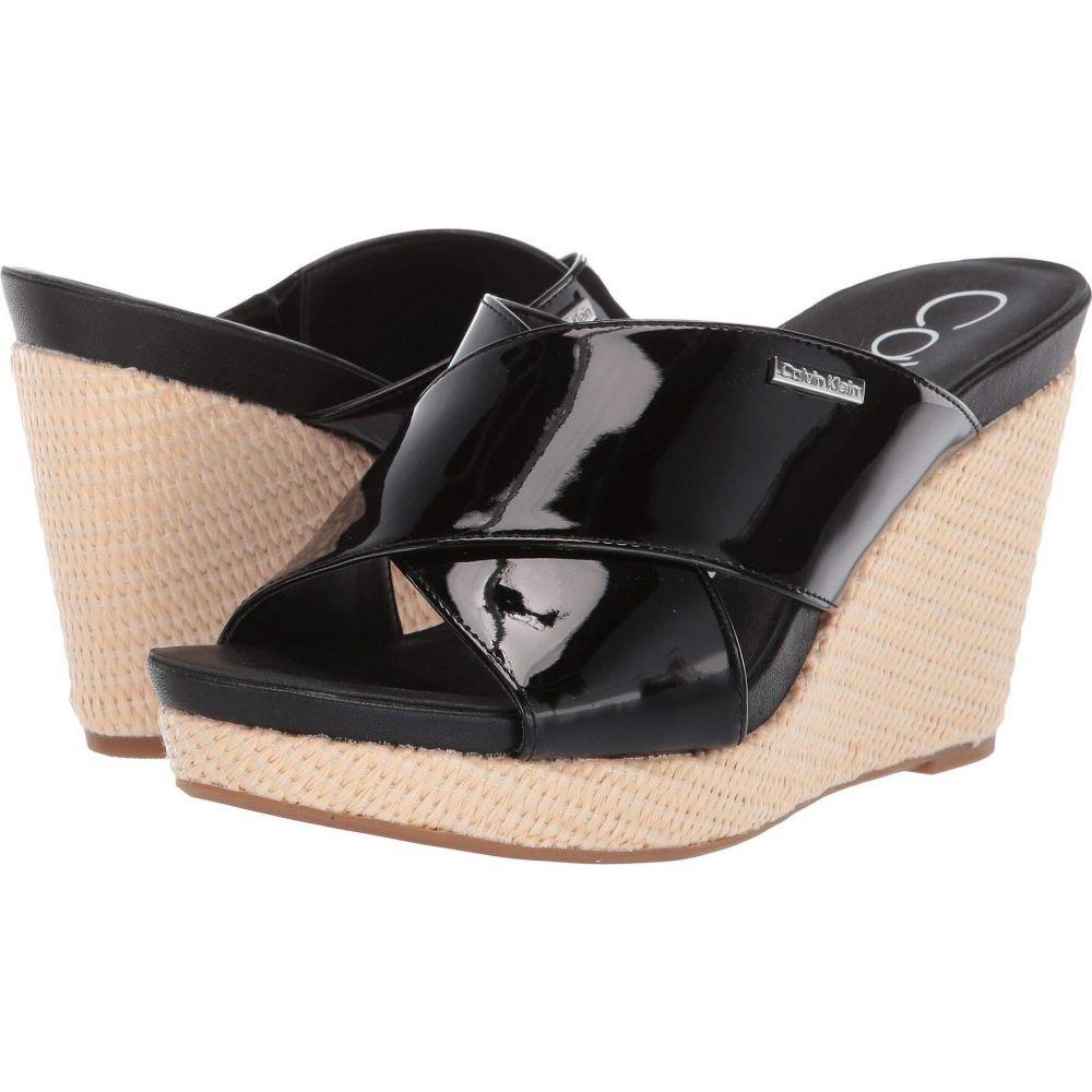 カルバンクライン Calvin Klein レディース サンダル・ミュール シューズ・靴【Jacolyn】Black Patent